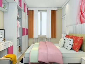 小户型女孩卧室装修效果图