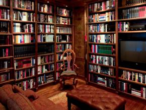原木风格书房装修效果图