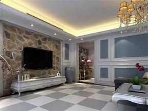 混搭风格小户型客厅装修效果图