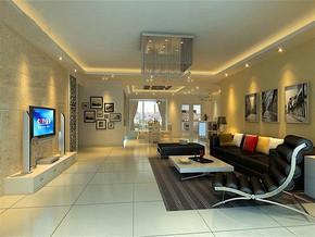 现代风格客厅居家室内设计效果图