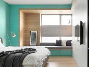 卧室飘窗实景图