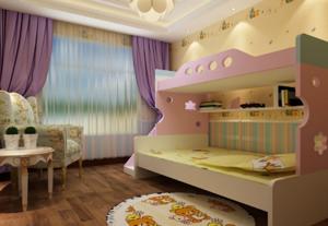 田园风格儿童房装修效果图