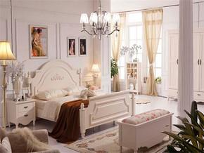 浪漫韩式卧室装修效果图