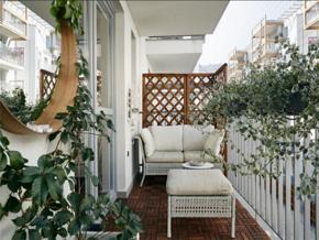 田园风优雅迷人休闲阳台装修设计图