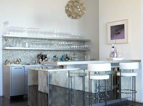 新古典风格家庭吧台装修效果图