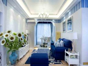 小户型地中海风格客厅装修效果图