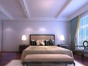 混搭北欧风格卧室装修效果图