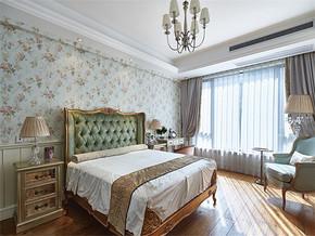 清新欧式卧室装修效果图