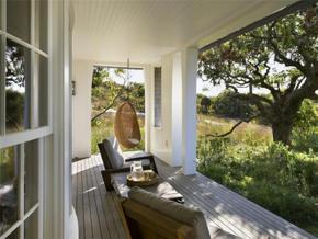 温暖休闲美式风格阳台装修设计图