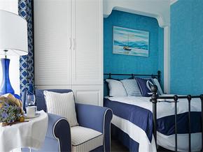 温馨地中海卧室装修效果图