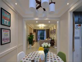 温馨韩式风格两室装修效果图