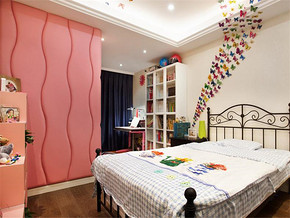 浪漫韩式风格卧室装修效果图