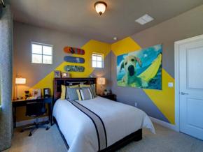 小户型儿童房现代风格装修效果图