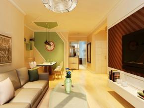 小户型简约风格客厅效果图