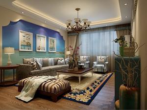 两室一厅室内装修效果图大全