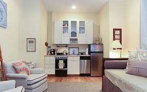 小户型迷你厨房橱柜装修效果图