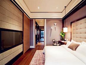 时尚现代风格卧室吊顶效果图欣赏