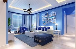 两室一厅一卫平面装修图