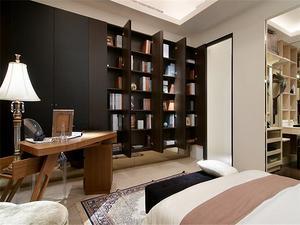 沉稳欧式风格三室装修效果图