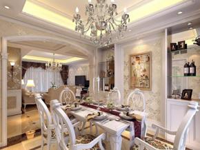 欧式风格餐厅装修效果图