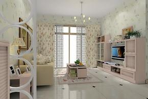 90平两室一厅装修效果图