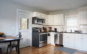 开放式厨房整体厨房橱柜装修效果图