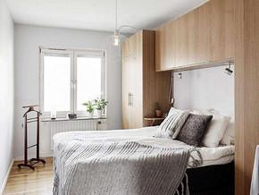 北欧风格卧室搭配效果图
