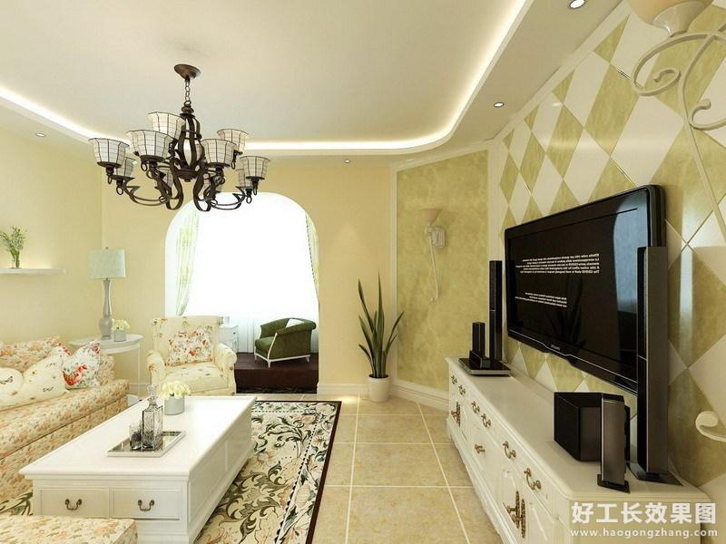 两室一厅欧式装修效果图