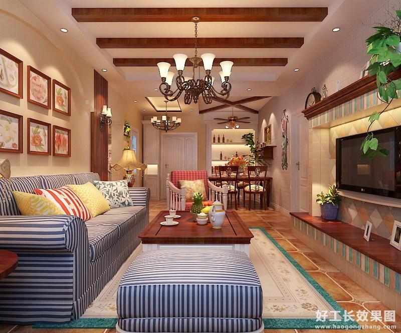两室一厅简约装修图