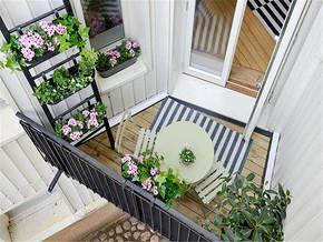俯视阳台设计效果图大全