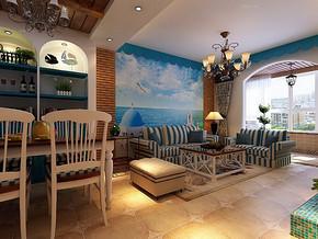 家装三室两厅设计效果图